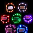 2M 20LED String Light Battery Operated Copper Wine Bottle Wire Fairy Party Light