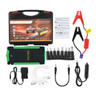88000mAh Emergency Car Jump Starter Booster 4 USB Power Bank Battery Charger 12V