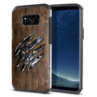 "For Samsung Galaxy S8+ Plus G955 6.2"" Slim Impact Hybrid TPU Hard Case Cover"