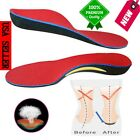 Orthotic Shoe Insoles Flat Feet Foot High Arch Gel Heel Support Inserts Pads USA