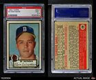 1952 Topps #407 Eddie Mathews Braves PSA 3.5 - VG+