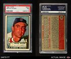 1952 Topps #327 Archie Wilson Red Sox PSA 7 - NM