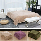 Soft Warm Flannel Fleece Blanket Plush Luxury Bed Blanket Twin/Full/Queen Size image