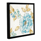 ArtWall Studio Pela 'Blue Blossom III ' Gallery-wrapped Floa