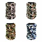 Small Pet Dog Vest Coat Camouflage Clothes Puppy Dog Summer Apparel Costume USA