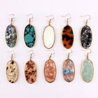 Tortoise Acetate Shell Leopard Boutique Earrings for Women Fashion Jewelry image