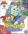 Pajama Sam: You Are What You Eat From Your Head 3 PC CD food groups battle game!
