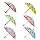 Внешний вид - Kids Boys Girls Cute Pattern Sun Rain Anti-UV Windproof Umbrella With Whistle US