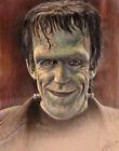 Fred Gwynne as 'Herman Munster' High Quality Art Print Sgn by Frederick Cooper