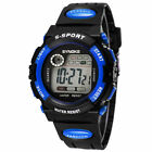 Kids Child Boy Girl Waterproof Multifunction Sports Electronic Watch Watches USAWristwatches - 31387