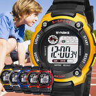 Kids Child Boy Girl Waterproof Multifunction Sports Electronic Watch Watches USA image