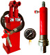 20 Ton Hydraulic Pump Hydraulic Ram Cylinder Pressure Gauge Workshop Shop Press günstig