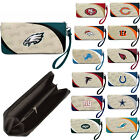 NWT NFL Pick your Teams Women Synthetic Leather Curve Zip Organizer Wallet on eBay
