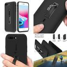 Hand Strap Ring Holder Hybrid Protective Case For iPhone 6 6S 7 8 Plus Xs Mas Xr