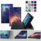 For Amazon Fire HD 8 8th 2018 Keyboard Case Slim Shell Stand Cover with Keyboard