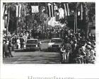 1980 Press Photo Procession Goes From Church To Bayou  - RSH17545