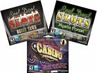 Reel Deal Casino & Slots Gaming Software PC Windows XP Vista 7 8 10 Sealed New