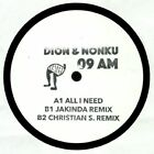 """DION & NONKU - All I Need - Vinyl (hand-stamped heavyweight vinyl  12"""")"""