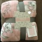 Official DISNEY FLeece Throw Blanket Bambi Marie Mickey Toy Poppins Primark NEW