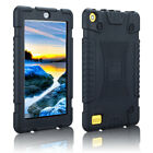 For Amazon Kindle Fire 7 HD 8 7th Gen 2017 Universal Rubber Case For Kids Cover