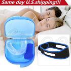 STOP SNORING Mouth Guard Aid Mouthpiece Sleep Apnea Bruxism Anti Snore Grinding