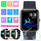 bluetooth smart watch ip68 waterproof heart rate monitor sports for android ios