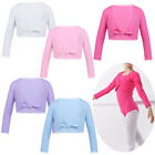 Внешний вид - Girls Ballet Shrug Shawl Wrap Jacket Gymnastic Leotard Dance Dress Coat Costume