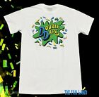 New Nickelodeon Double Dare 1986 Vintage White Men's T-Shirt image