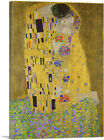 ARTCANVAS The Kiss - Rectangle 1907 Canvas Art Print by Gustav Klimt