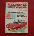 Mechanix Illustrated Magazine Sept 1961  FORD AMAZES CAR WORLD