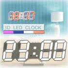 Внешний вид - 3D LED Digital Wall Clock Date Time Temperature Display Auto Desktop USB