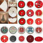 Внешний вид - Christmas Tree Skirt Soft Floor Mat Cover Stands Apron Rug Xmas Party Home Decor