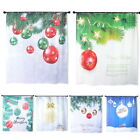 Modern Xmas Series Christmas Tree Pattern Polyester Bath Shower Curtain 180cm