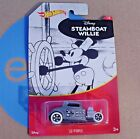 Steamboat Willie. '32 Ford. 2018 Hot Wheels. DISNEY 1/8. GDG84. New, Sealed