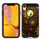 """For Apple iPhone XR 6.1"""" Anti Shock Brushed Hybrid Hard Silicone Case Cover"""