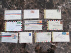 Lot of 10 Covers Postal History Censored World War 2 US Mexico Colmbia Worldwide