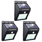 Solar Power Light PIR Motion Sensor Garden Security Outdoor Yard Wall Lamp