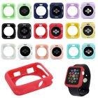 For iWatch A pple Watch Series 4 3 2 1 Soft Bumper Silicone Protector Case Cover