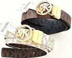 Michael Kors MK Belt reversible brown/black/gold   Size S, M,  L , XL, XXL
