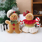 Gingerbread Man Doll Toys Christmas Tree Ornaments Xmas Home Party Decoration