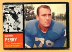 1962 Topps Football #145B Gerry Perry (VG-EX) -- St Louis Cardinels