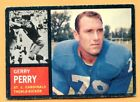 1962 Topps Football #145A Gerry Perry (VG-EX) -- St Louis Cardinels