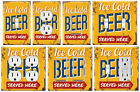 Ice Cold Beer - Graphics Art Toggle/Rocker/GFCI/Outlet Wall Plate