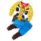 Toddler Kid Boy Baby Toy Story Buzz Lightyear Woody Sleepwear Pajamas Set Outfit