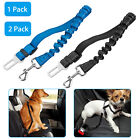 1 2x Pet Seat Belt Dog Safety Adjustable Clip Car Auto Travel Vehicle Safe Puppy
