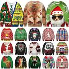 XMAS CHRISTMAS SWEATER 3D Printed Women Men Sweatshirt Pullover Jumper Coat Tops