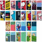 OFFICIAL PEANUTS HALFS AND LAUGHS LEATHER BOOK CASE FOR SAMSUNG GALAXY TABLETS