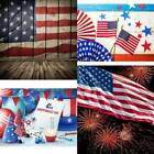 American Flag Background Independence Day Carnival Vinyl Photography Backdrops