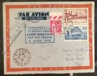 1938 Beaune France Airmail First Flight Cover FFC To Hong Kong Via Hanoi Vitnam