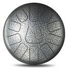 12 ''11 Tone Steel Tongue Percussion Drum Handpan Instrument With Drum Kids Toy